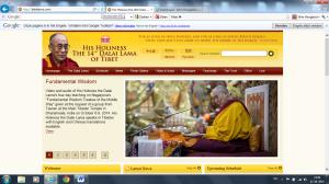 Website Dalai Lama